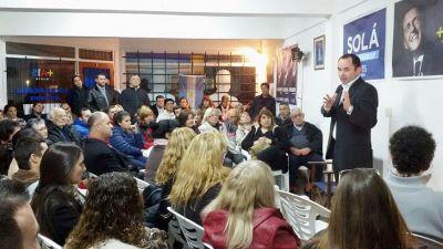 """Fiorini: """"Mar del Plata necesita que las cosas se hagan honestamente, con sentido común y buena gestión"""""""