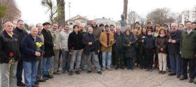 Los socialistas cerraron su campaña homenajeando a Teodoro Bronzini