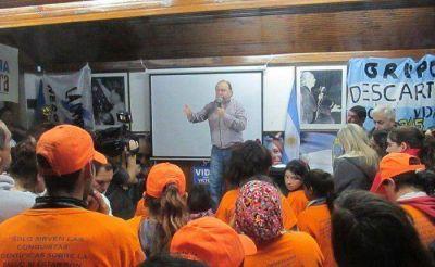 Vidal cerró su campaña con un fuerte discurso