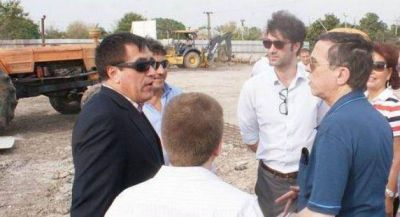 Centro de Medicina Nuclear: Representantes de Nación y Décima constataron avance de obras