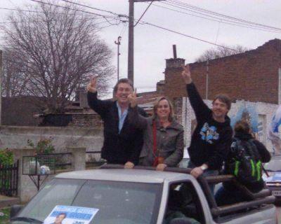 Con caravana y acto, cerró su campaña la Lista 6 del FpV