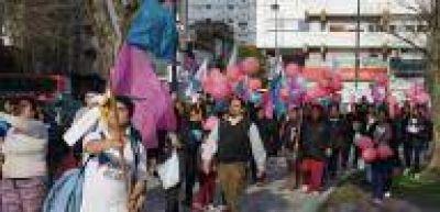 La Plata: Libres del Sur cerr� campa�a con caminata