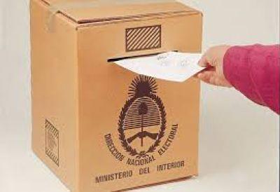 Más de 345 bahienses deberán definir entre 11 precandidatos a intendente