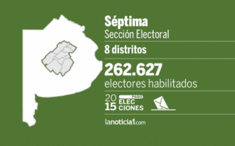 Elecciones Paso 2015: Séptima sección elige candidatos para octubre