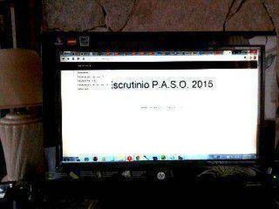 El escrutinio provisorio de las PASO se podrá seguir online
