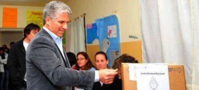 El gobernador Poggi votó en Merlo