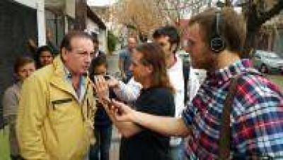 """La Plata: """"Estuvo tranquilo, aunque hubo algunos incidentes en City Bell"""", dijo Vaudagna (FR)"""