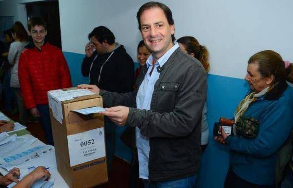 Sujarchuk votó en Matheu