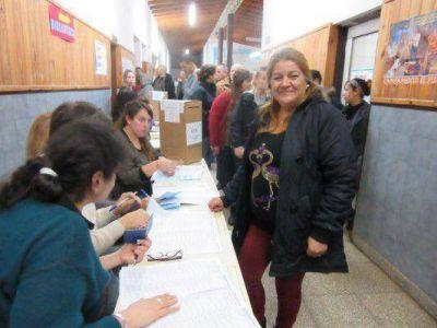 """Votó Adriana Merelas: """"logramos que muchos conozcan nuestro proyecto"""""""