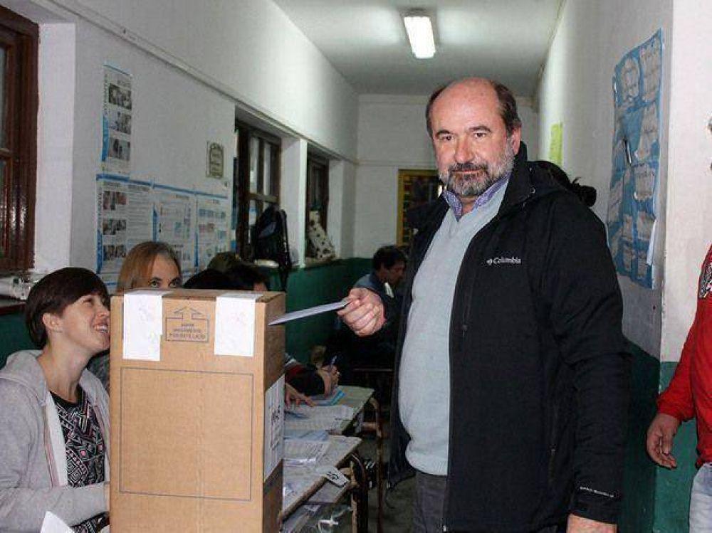 Votó Jorge Martínez Salas