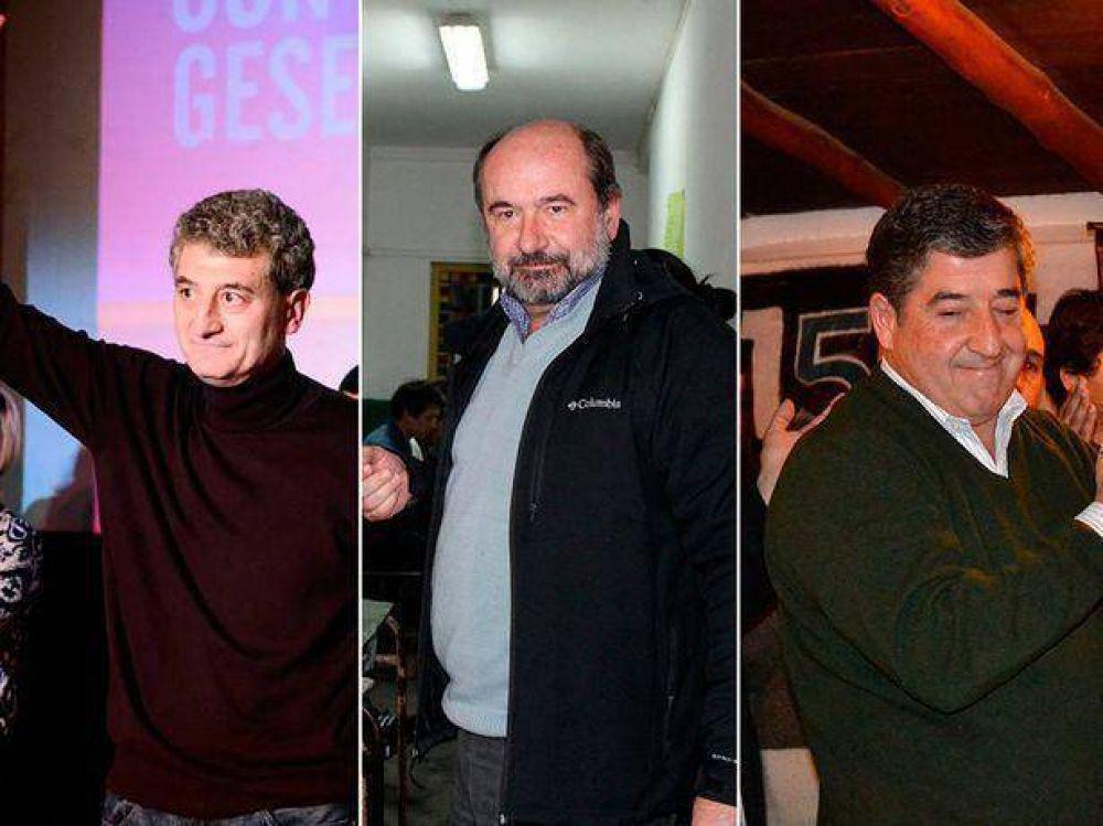 Barrera, Martínez Salas y Roncoroni encabezan los resultados de las PASO
