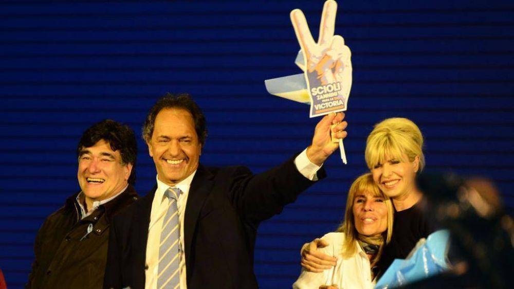 Daniel Scioli impuso en las PASO su liderazgo manso