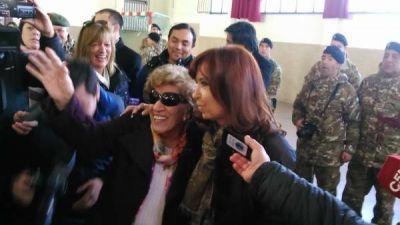 Sin victoria contundente, Cristina se quedó en Olivos