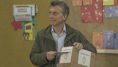 "Macri denunció ""robo de boletas"""