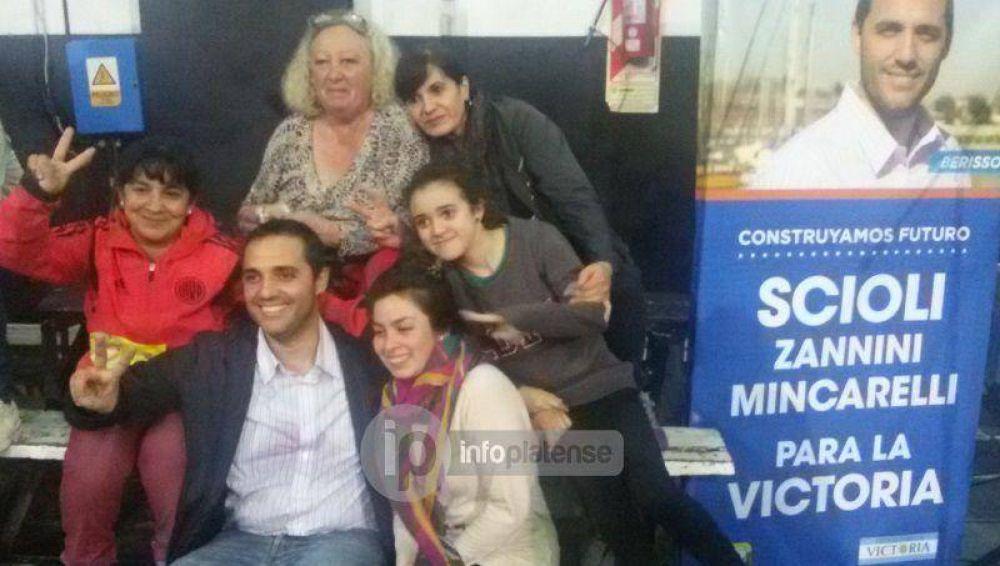 Berisso: Mincarelli se impuso en la interna del FpV y Nedela quedó segundo