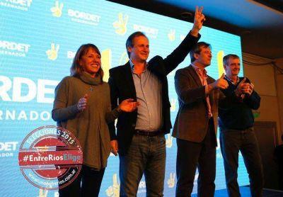 Gustavo Bordet fue el dirigente más votado en Entre Ríos