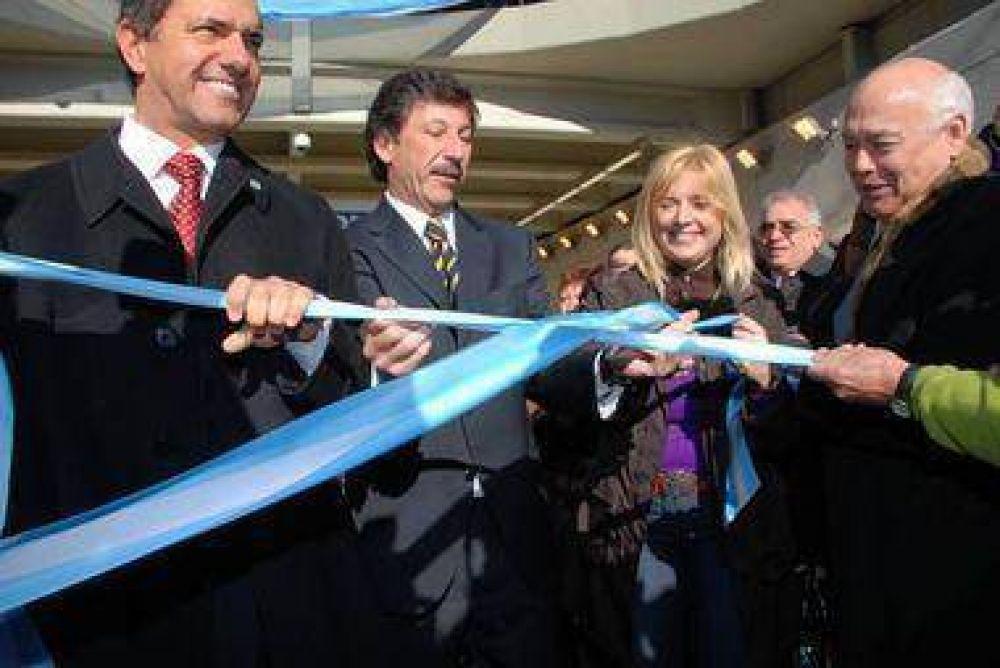 San Isidro Obra Pública Daniel Scioli y Gustavo Posse inauguraron el túnel de la ciudad de Boulogne