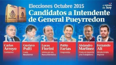 Seis candidatos se disputarán la Intendencia