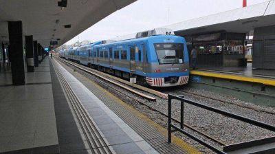 No funciona el tren Sarmiento por una medida de fuerza