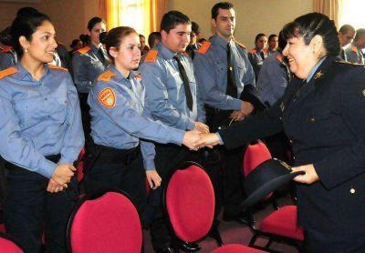 Pusieron en funciones al jefe provincial de la Policía Comunitaria