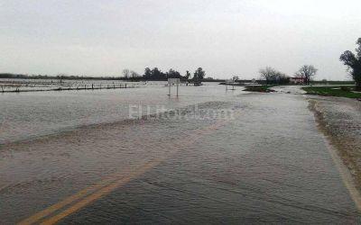 Hay más de 220 evacuados en el sur provincial
