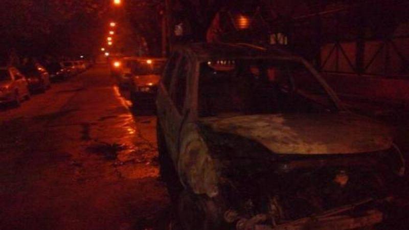 En medio del paro en el Sarmiento, quemaron la camioneta del