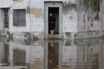 Temporal: ya son 1800 los evacuados en toda la provincia