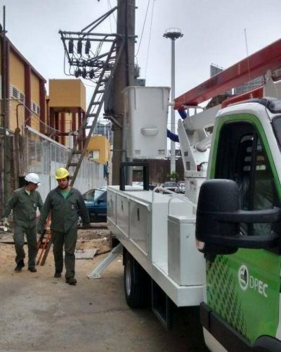 DPEC dispondr� tareas en redes de distribuci�n en dos barrios al norte de Capital