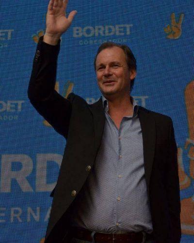 Con el 98 por ciento de las mesas escrutadas, Bordet le gana por escaso margen a De Ángeli en Gualeguaychú