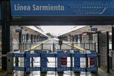 Irracional paro paralizó la línea Sarmiento
