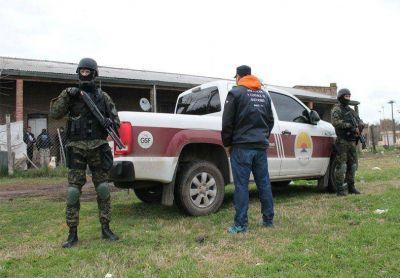 Se realizaron 14 allanamientos simult�neos por drogas en Villa Constituci�n