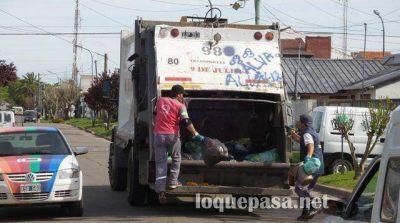 Comienza esta semana el debate por la licitación de la recolección de residuos