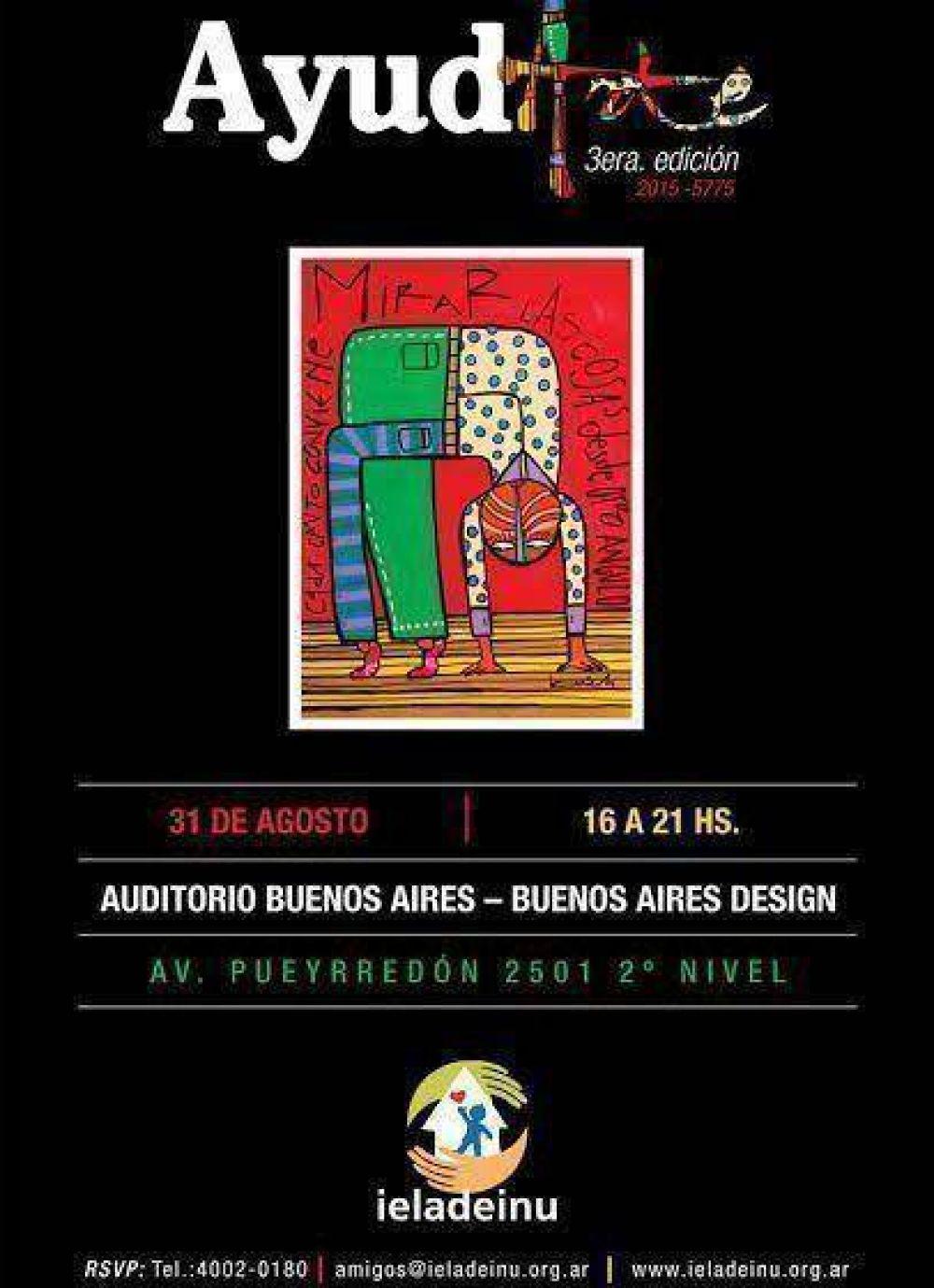 Jabad presenta la tercera edición de la muestra de Arte Solidario de Ieladeinu