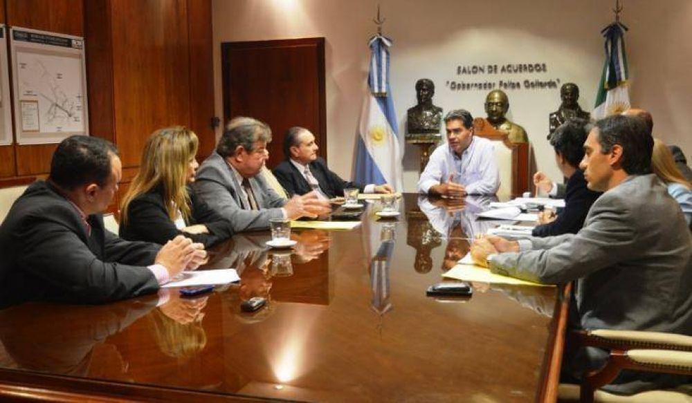 Ministros del STJ y el Gobernador analizaron la implementación de la Ley de Narcomenudeo
