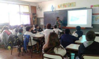Municipio concientiza en las escuelas para cuidar el medio ambiente