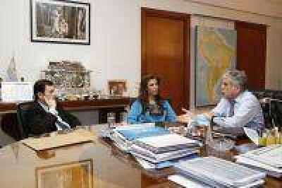 De Vido mantuvo reuniones con funcionarios de Santiago del Estero y de Córdoba