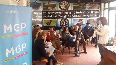 Los Referentes de las ONG de Bat�n fueron capacitados