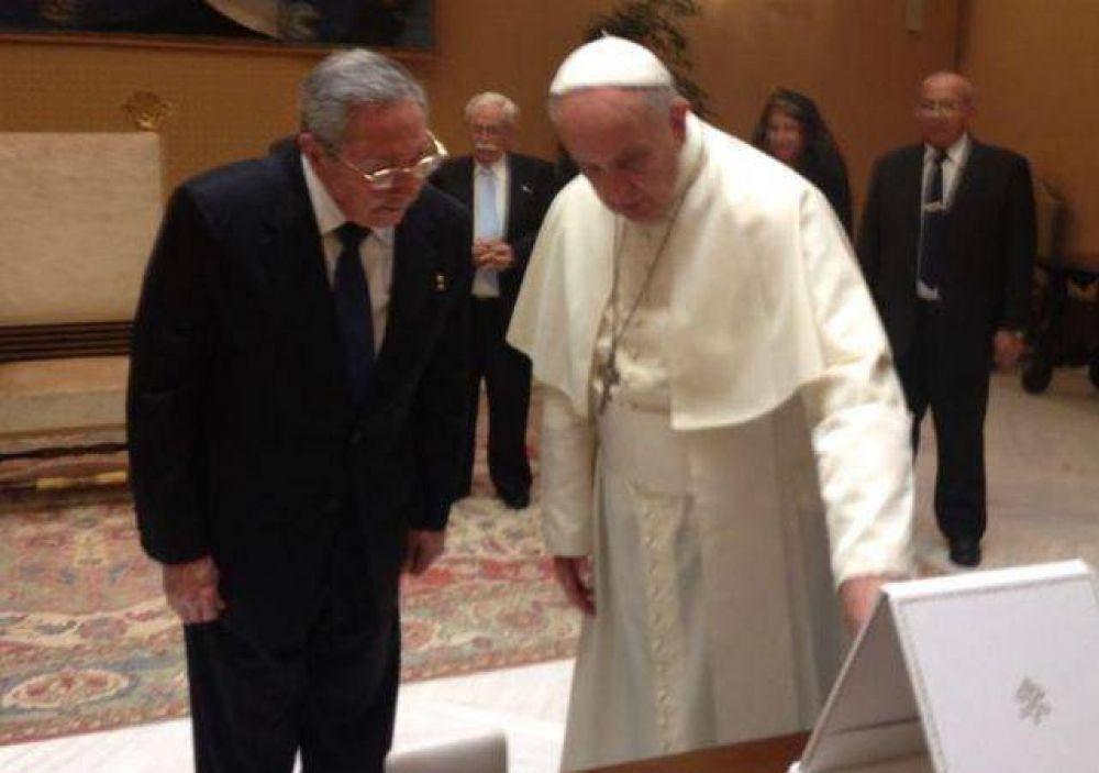 La visita del Papa Francisco a La Habana comenzará con una Misa y una reunión con Raúl Castro