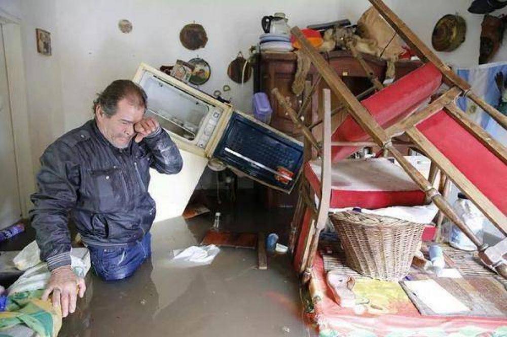La ayuda de Cáritas para los inundados