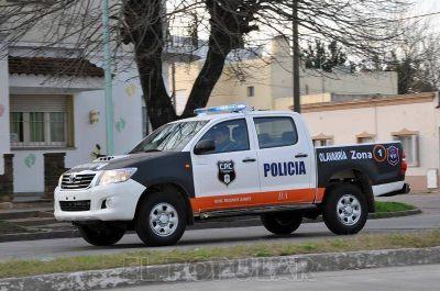 Granados llega para el lanzamiento de una nueva fuerza policial en Olavarría