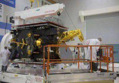 El Arsat-2, cada vez más cerca de partir hacia el espacio