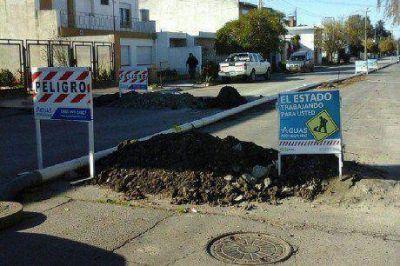 Aguas Rionegrinas finaliza la �ltima etapa de recambio de ca�er�a cloacal