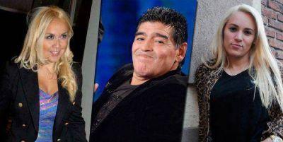 Diego Maradona llena de regalos a Rocío Oliva, mientras Verónica Ojeda lo provoca desde Argentina