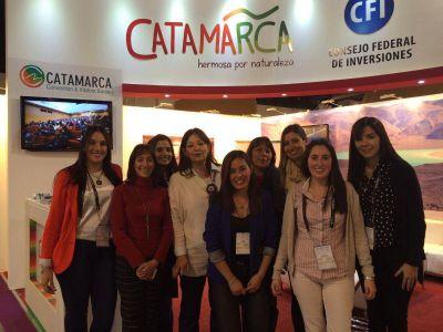 El stand de Catamarca recibe numerosas visitas y consultas