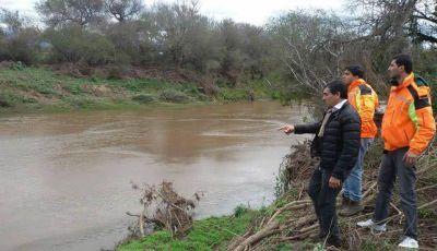 Defensa Civil prepara protocolo de prevención en Bañado de Ovanta