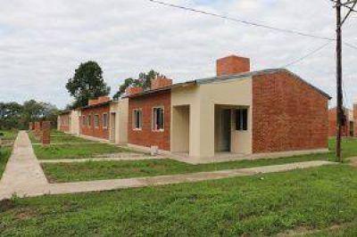 El Ipduv licita nuevas viviendas para localidades del interior