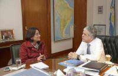 De Vido recibió a la gobernadora de Catamarca y a intendentes de la Provincia de Buenos Aires