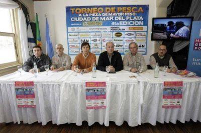 """Presentaron la 4ª edición del Torneo de Pesca """"Ciudad de Mar del Plata"""""""