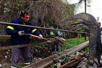 """Giuffre: """"Por suerte el pico de agua en San Fernando no llego a lo que se esperaba"""""""