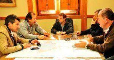 Speranza se reunió con personal de Hidráulica de la Provincia